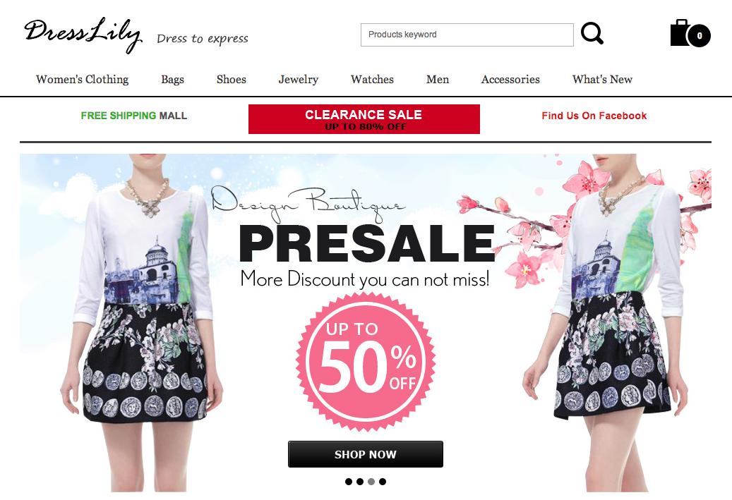 Clothes Shopping Websites Like DressLily - Good Sites Like