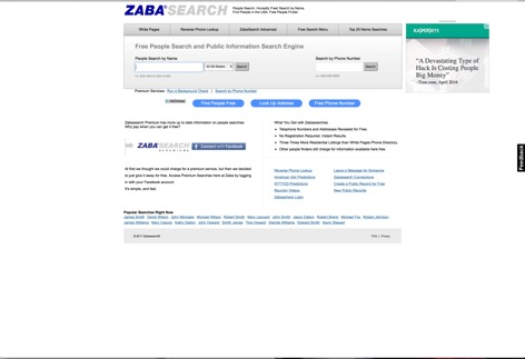 Zaba Search