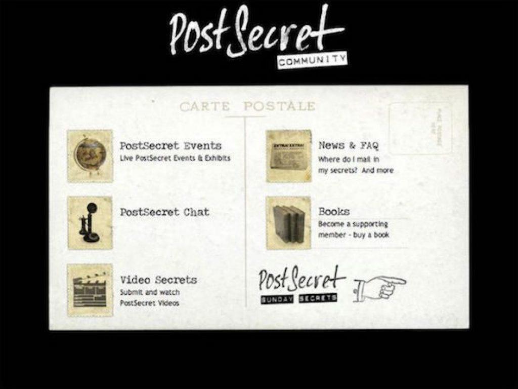 5 Secret Sharing Sites Like PostSecret - GoodSitesLike