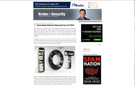 Krebs on Security